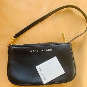NWT!  Marc Jacobs black leather city slick bag